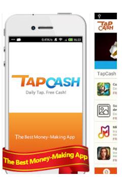 Tap cash rewards app