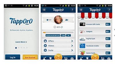 Tapporo earn money app