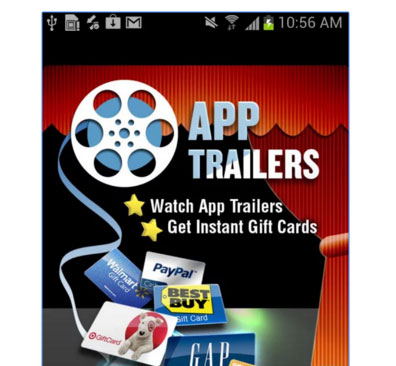 Apptrailers make money app