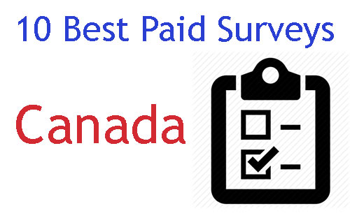 10 best paid surveys Canada