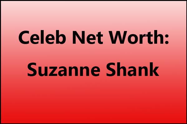 Suzanne Shank net worth