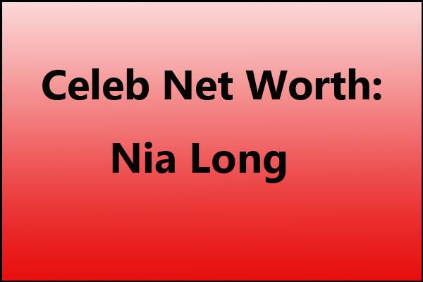 Nia Long net worth